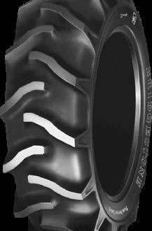 12.4-16 Bridgestone Farm Service Lug-F 4 ply tyre